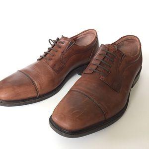 Johnston & Murphy men's dress shoes waterproof